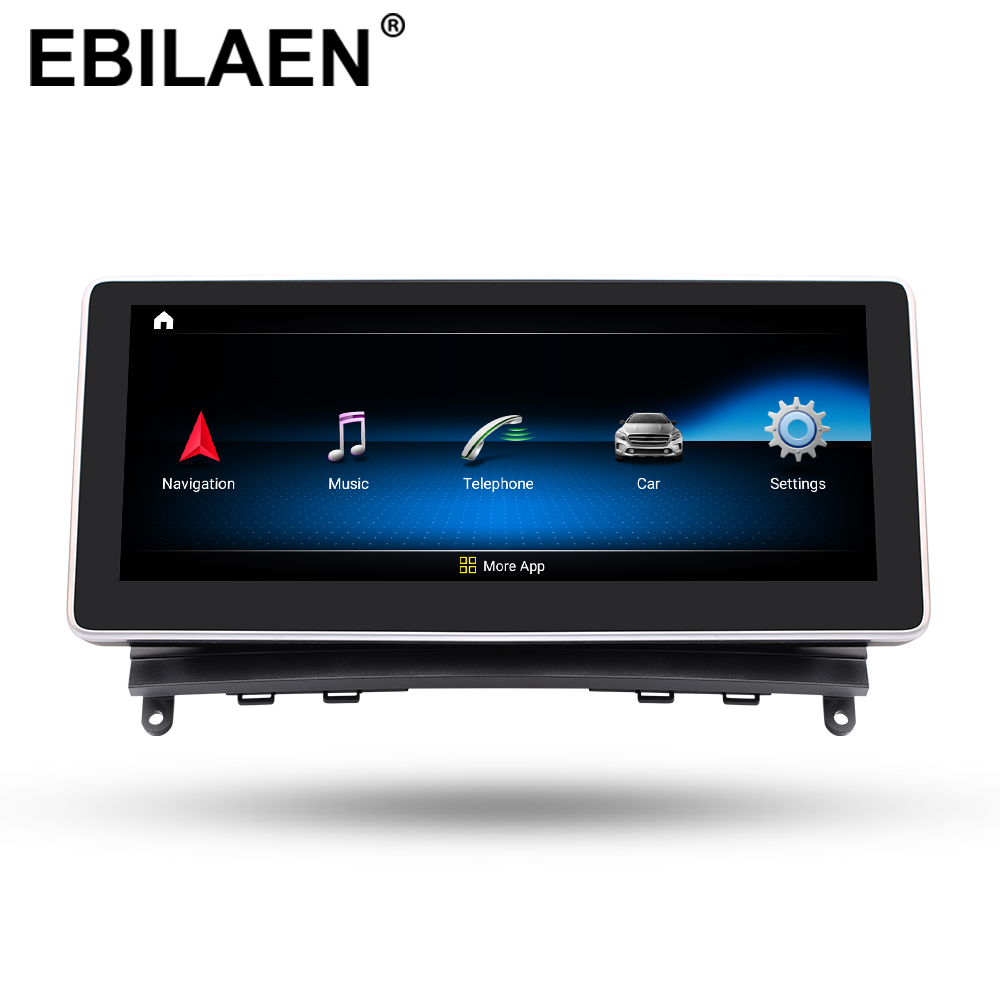 Car DVD Multimedia Player for <font><b>Mercedes</b></font> Benz C Class <font><b>W204</b></font> S204 2008-2010 2Din Car <font><b>Android</b></font> 9.0 <font><b>Autoradio</b></font> Cassette Stereo Navi GPS image