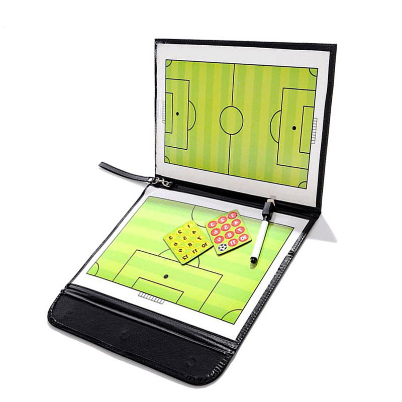 2.5 Fold Teaching Board Soccer Coaching Board For Teenage Football Team Training Assistant Accessories Practical Tactical Board