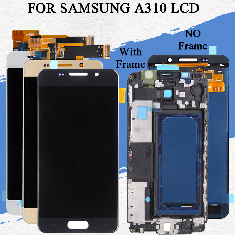 Dinamico A3 2016 Display For Samsung Galaxy A310 Lcd A310F With Touch Panel Screen Digitizer Assembly Tools