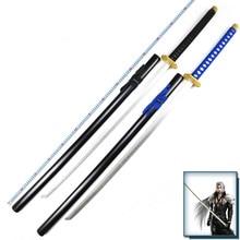 Final fantasy vii ff7 sephiroth prop arma katana de madeira 135 cm cosplay prop samurai espada