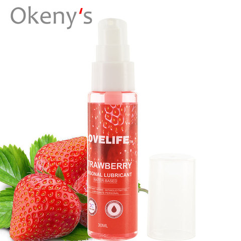 5pcs 30ml Strawberry Flavor Edible Lubricant Anal Vaginal Oral Sex Silicone Lubricating Oil Adult Sex Products Body Massage Gel Islamabad