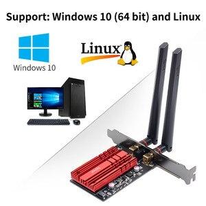 Image 5 - ワイヤレスデスクトップWiFi6 インテルAX200 カードbluetooth 5.0 デュアル 2974mbps pcie無線lanアダプタAX200NGW 802.11ax windows 10