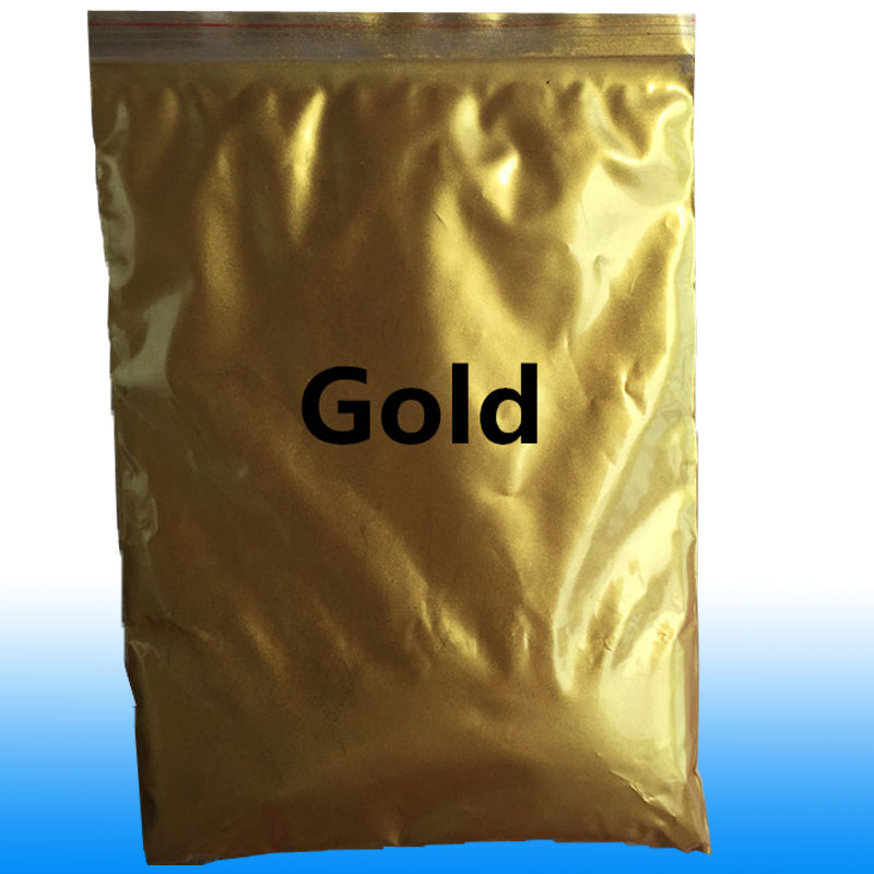 Gold Pearl Pigment Mica Powder 50g Gold Paint For Art Crafts Automotive Cosmetics Eyeshadow Ceramic Powder Coating Epoxy Pigment