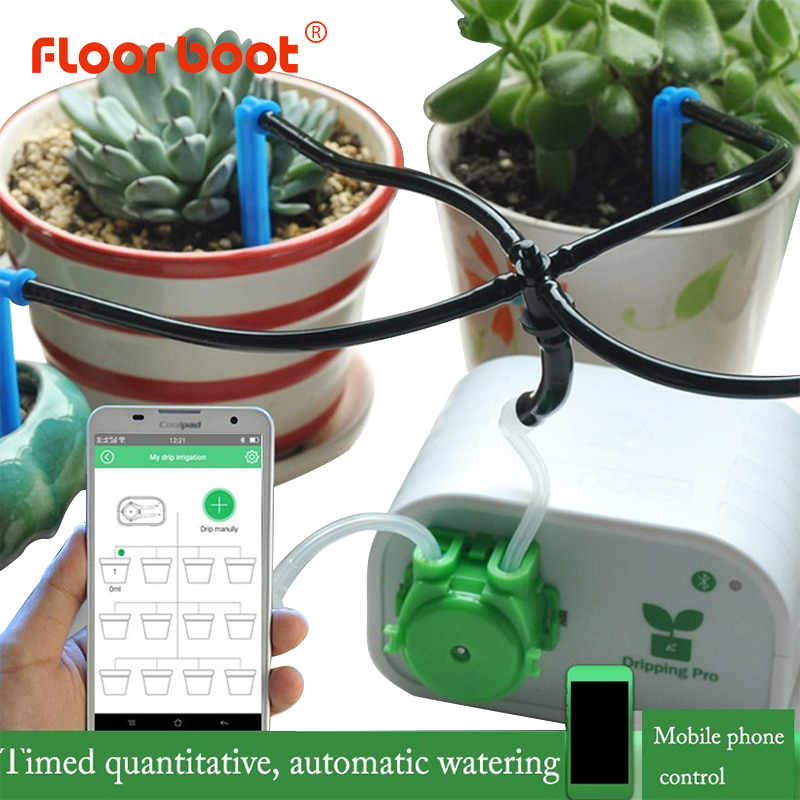 Floor boot hose garden watering system drip irrigation system auto watering for garden plant irrigation system for bluetooth