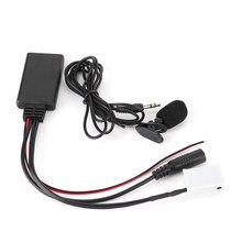 Adapter Audio 12 Pin 150CM Bluetooth Aux Adapter samochodowy sprzęt Audio części pasuje do Seat Radio CD-1/2/3 PN-1/3 RNS-4 SE359/360