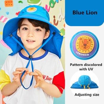 Kid Fashion Big Sun Hat Beach Hat Anti-UV Sun Protection Folding Cap Children Summer Hot Travel Hat Wide Brim Wide Beach Hat сумка printio sun surf kid