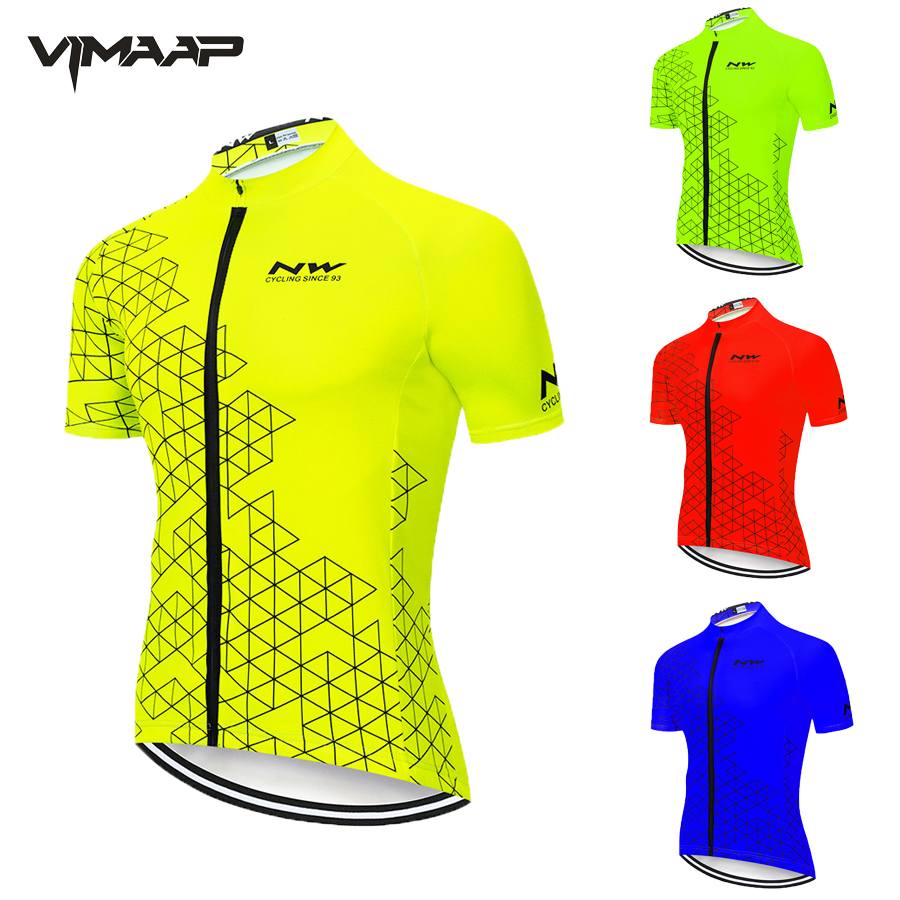 2020 NW Northwave Men's Cycling Jerseys Short Sleeve Bike Shirts MTB Bicycle Jeresy Cycling Clothing Wear Ropa Maillot Ciclismo title=