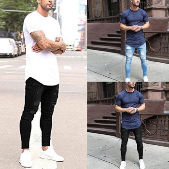 Men's Ripped Holes Jeans