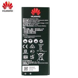 Image 3 - 100% מקורי סוללה עבור Huawei honor 4A כבוד 5A LYO L21 y5II Y5 השני Ascend 5 + Y6 SCL TL00 CUN U29 2200mAH HB4342A1RBC