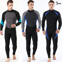 2019 New diving suit Swimming Surf Men Scuba Equipment Men 3mm Diving Neoprene Wetsuit suit for snorkeling man surf suit new scr neoprene 3mm camouflage one piece diving suit surf suit warm waterproof wetsuit for male size s xxl