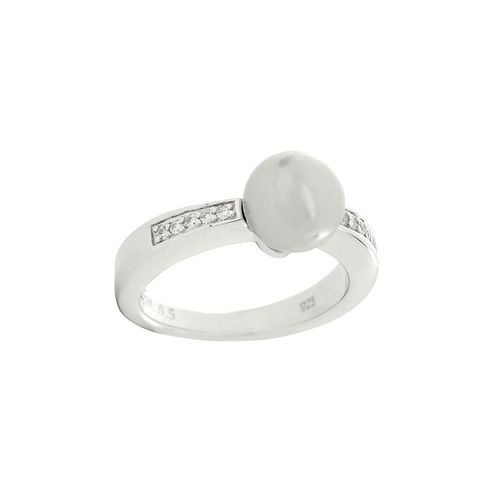 Jewelry Ring Fossil for women JFS00016040 Jewellery Womens Rings Jewelry Accessories Bijouterie vintage alloy engraved circle ring for women