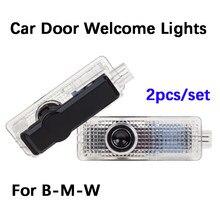 1pcs Led Car Luz Porta Bem-vindo Santo sombra Projetor Logo Para BMW 7 5 3 Series E90 E92 M5 F15 F10 F30 E60 G30 G38 E65 E66 F01