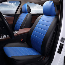 New Luxury PU Leather Auto Car Seat Covers Automotive Universal Car seat protection cover Fit Most Cars Four season car interior