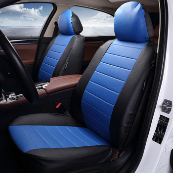 New Luxury PU Leather Auto Car Seat Covers Automotive Universal Car seat protection cover Fit Most Cars Four season car interior universal auto car seat cover auto front rear chair covers seat cushion protector car interior accessories 3 colors