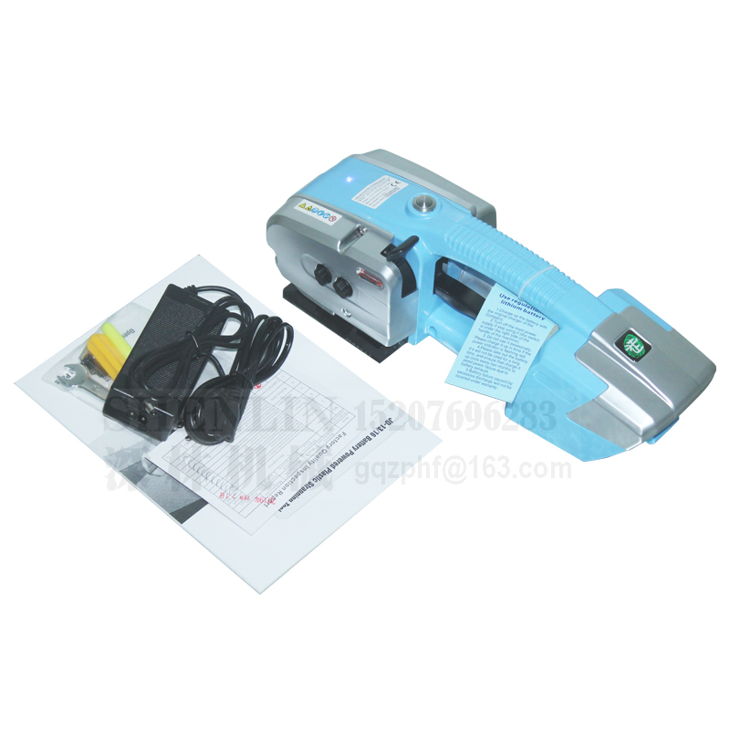 Tools : Battery strapping tools hand held PP PET strapping machine plastic belt packaging battery strap width 12-19mm JD16