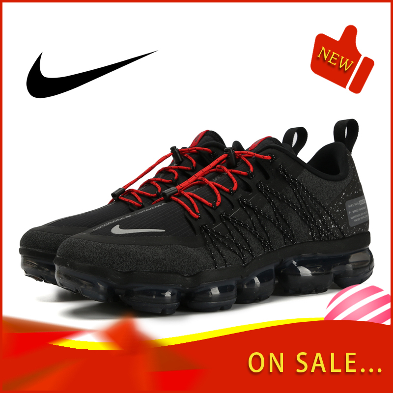 Original Authentic Nike Air Vapormax Run Utility Men's Running Shoes Fashion Classic Outdoor Sports Shoes Breathable AQ8810-003