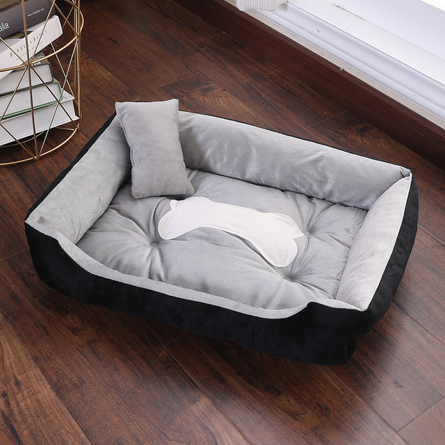 CANILE Soft Pet Bed For Dogs Washable House For Cat Puppy Cotton Kennel Mat Pet Bed Warm Pet Products For Small Medium Large Dog 3