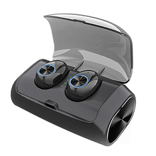V6 Tws Wireless Bluetooth Earphone Sports Headphone Handsfree Control Noise Canceling Earbuds Stereo Headset With Charging Box цена и фото
