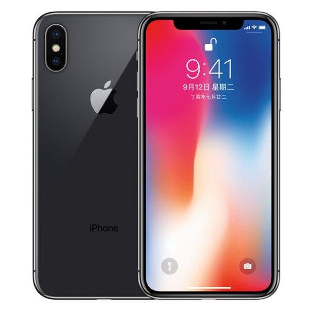 Original Apple iPhone X 64GB 256GB ROM 5.8 2