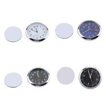 Horloge de tableau de bord classique   Montre à Quartz de Table, montre de voiture pièces de rechange de voiture 40*40*7mm
