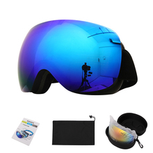 2020 Ski Snowboard Goggles Women Men Skiing Eyewear Mask UV400 Protection Anti-fog Snow Glasses