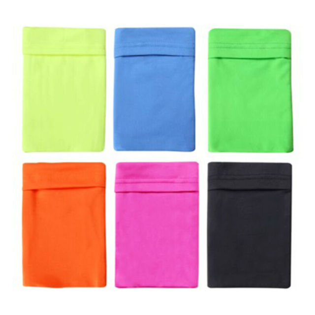 Gym Sports Running Jogging Armband Arm Band Bag Holder Case Cover For Cell Phone Armband 3E26 6