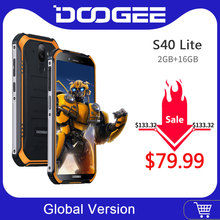 IP68 DOOGEE S40 Lite Rugged Phone Mobile Phone