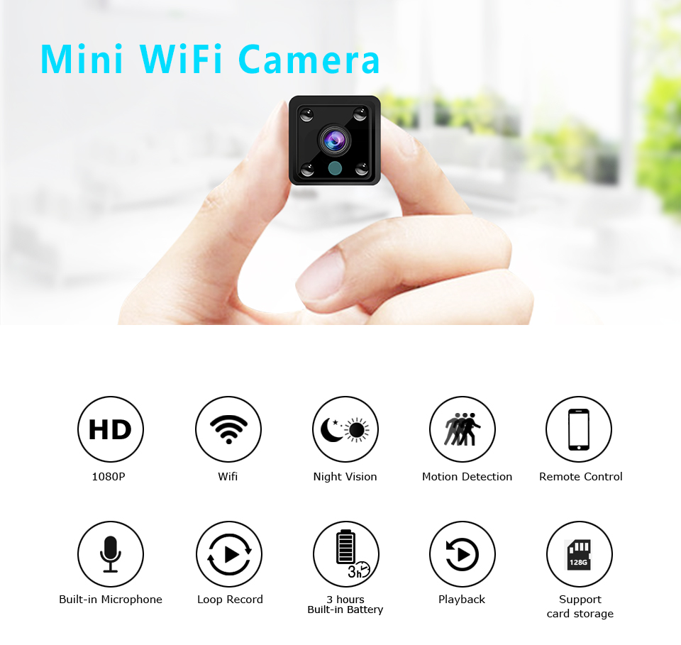 HD Mini IP Camera