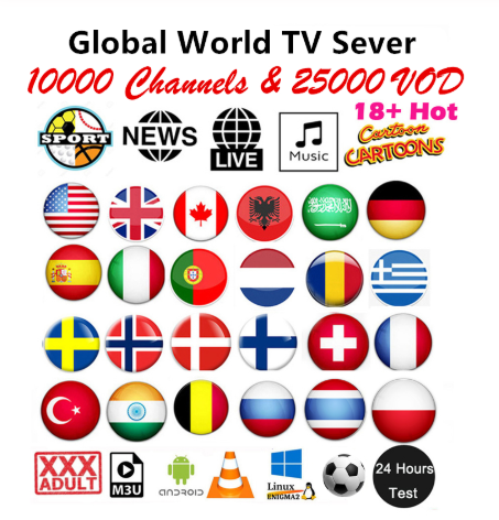 Suscripcion 12 monate IPTV Spanien IPTV erwachsene Movist M3U IPTV code M3u GSE Rätsel für Android box Enigma2 IOS smart PC MAC