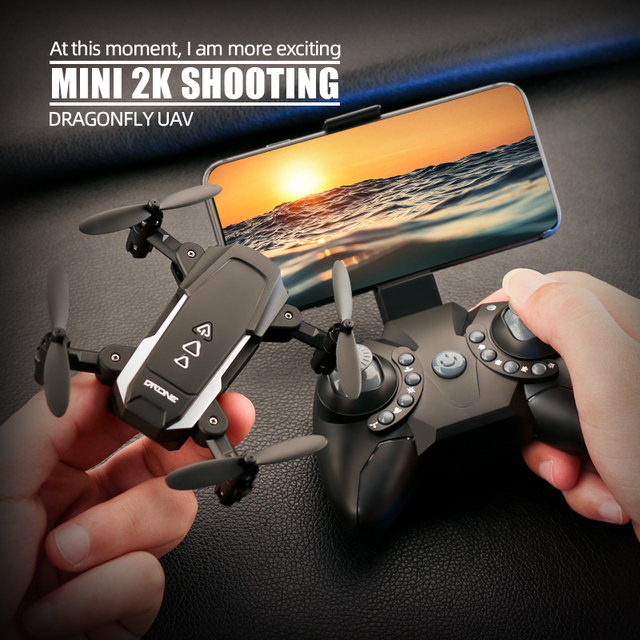 KK8 Foldable Mini drones Drone RC FPV Quadcopter HD Camera Wifi FPV Dron Selfie RC Helicopter juguetes Toys  for boys girls kids 1