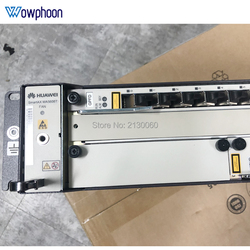 Freies Durch DHL Original Huawei 19 zoll OLT GPON OLT MA5608T AC DC, 1 * MPWC MPED Power Board, 1 * MCUD 1G control board, GPBD GPFD C +
