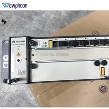 "Ücretsiz DHL tarafından orijinal Huawei 19 ""inç OLT GPON OLT MA5608T AC DC,1 * MPWC MPED güç kartı, 1 * MCUD 1G kontrol panosu, GPBD GPFD C +"