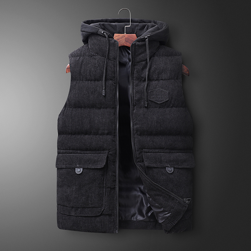 Mens Jacket Sleeveless Vest Winter Spring Fashion Casual Coats Male Cotton Warm Men's Vest Men Thicken Waistcoats Big Size 7XL