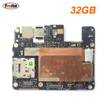 Ymitn Work Well Unlocked Mobile Electronic Panel Mainboard PCB Boards Motherboard Circuits Flex Cable For Google Pixel 32GB(China)