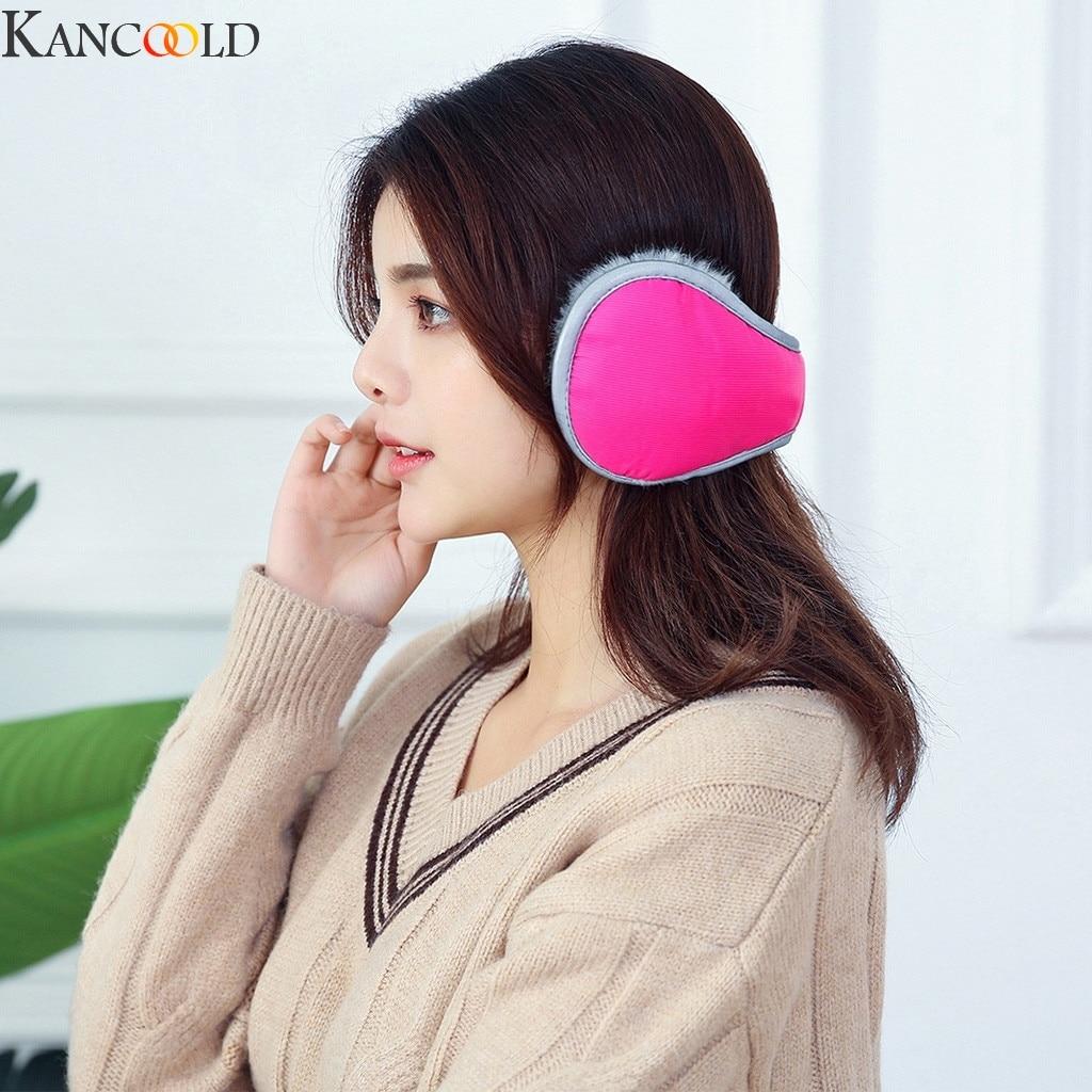 KANCOOLD Warm Earmuffs Winter Earmuffs Wool Earmuffs Earmuffs Ear Warm Foldable Adjustment Cold-Resistant-40 Degree Celsius