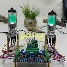 Ghxamp driver kits de indicador de nível de tubo, dc12v 6e1, placa de canal duplo para amplificador de áudio, rádio preamplificador, diy, baixa tensão