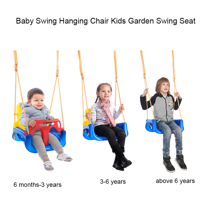 Baby Swing Hanging Chair Kids Garden Swing Seat Outdoor Playground Set Children Indoor Toy Swings For Fun Toy Swings Aliexpress