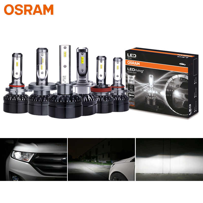 OSRAM LED H1 H4 H7 H8 H11 H16 H1R2 HB2 HB3 HB4 9003 9005 9006 9012 Car Headlight 12V LEDriving HL 6000K LED Auto Bulbs  (Twin)