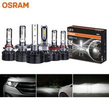 オスラム LED H1 H4 H7 H8 H11 H16 H1R2 HB2 HB3 HB4 9003 9005 9006 9012 車のヘッドライト 12V LEDriving HL 6000 18K Led オート電球 (ツイン)