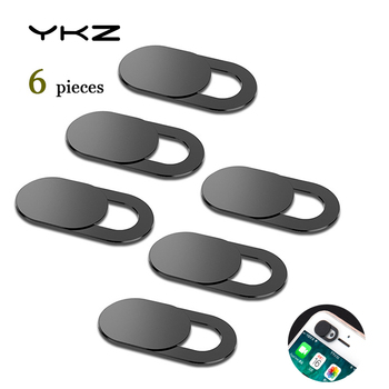 YKZ 6Pcs Mobile Phone Privacy Sticker WebCam Cover Shutter Magnet Slider Plastic For iPhone Web Laptop PC For iPad Tablet Camera 1