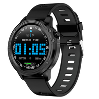 L8 Smart Watch Men Ip68 Waterproof Mode Smart Watch with Ecg Ppg Blood Pressure Heart Rate Sports Fitness Watches