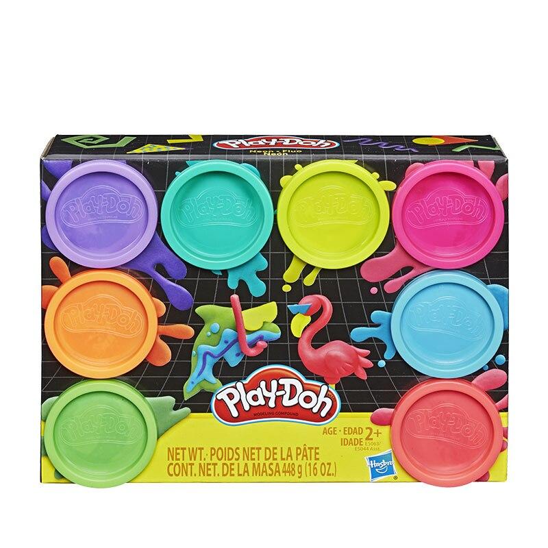 original hasbro originais rainbow color plasticine doh jogo montessori brinquedos slime brinquedo para criancas presente de