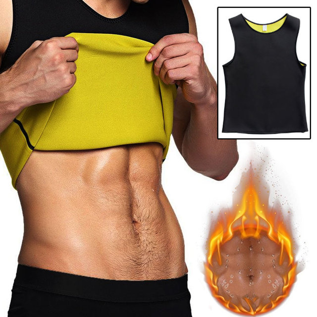 Slimming Belt Belly Waist Slimming Burning Body Fat Abdomen Vest Shaperwear Sweat Shaper Neoprene Men Corset 1