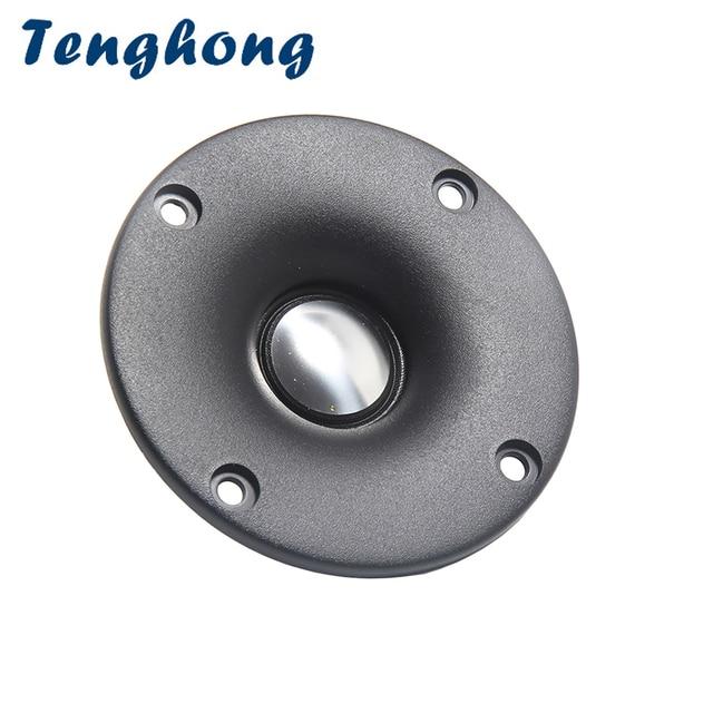 Tenghong 2 個 3 インチのツイータースピーカー 4Ohm 20 ワットアルミネオジム高音スピーカー本棚オーディオスピーカーホームシアター用 diy