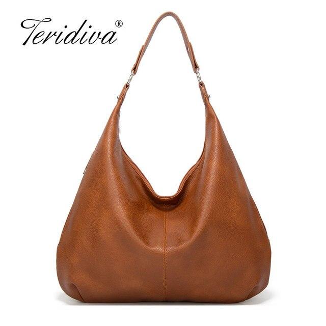 2020 nowe kluski Hobos torby dla pań o dużej pojemności torby na ramię proste projektowanie mody torebki damskie duże casualowe torby tote