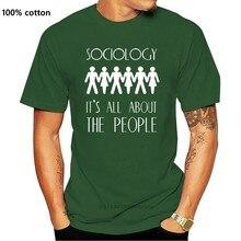 Sociologia é tudo sobre as pessoas-camiseta masculina-10 cores-livre uk p & p impressão t camisa masculina manga curta quente topos tshirt