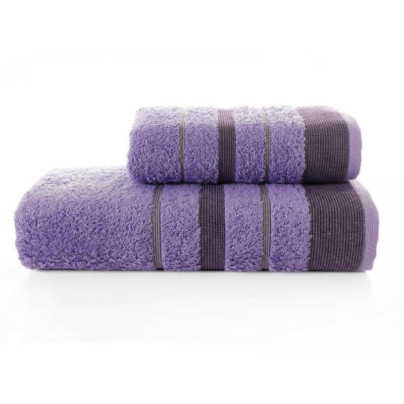 Towel Set KARNA, REGAL SET, 2 subject, lilac towel set karna bale dark yellow 4 subject
