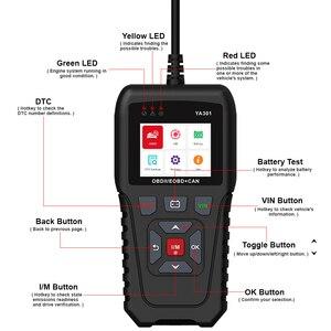 Image 5 - Code Reader und Scan Werkzeug für Auto Diagnose Schalten Motor Überprüfen Licht Automotive OBD2 Scanner PK KW850