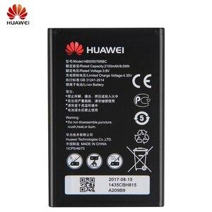 Image 3 - Оригинальный запасной аккумулятор HB505076RBC для телефона Huawei A199 G606 G610 G610S G700 G710 G716 C8815 Y610 Y3 ii, Аккумулятор 2100 мАч