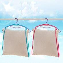 Хорошая устойчивость к морщинкам и удерживающая форму подушка для сушки сетчатая крышка Подушка мешок для сушки фиксированная Солнцезащитная стойка для сушки подушек полка
